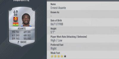 6.-Ernest Asante–FC Nordsjælland (95) Foto:EA Sports