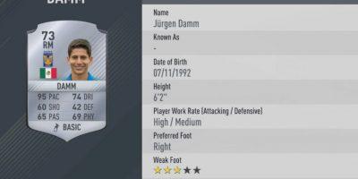 5.-Jurgen Damm–Tigres UANL (95) Foto:EA Sports