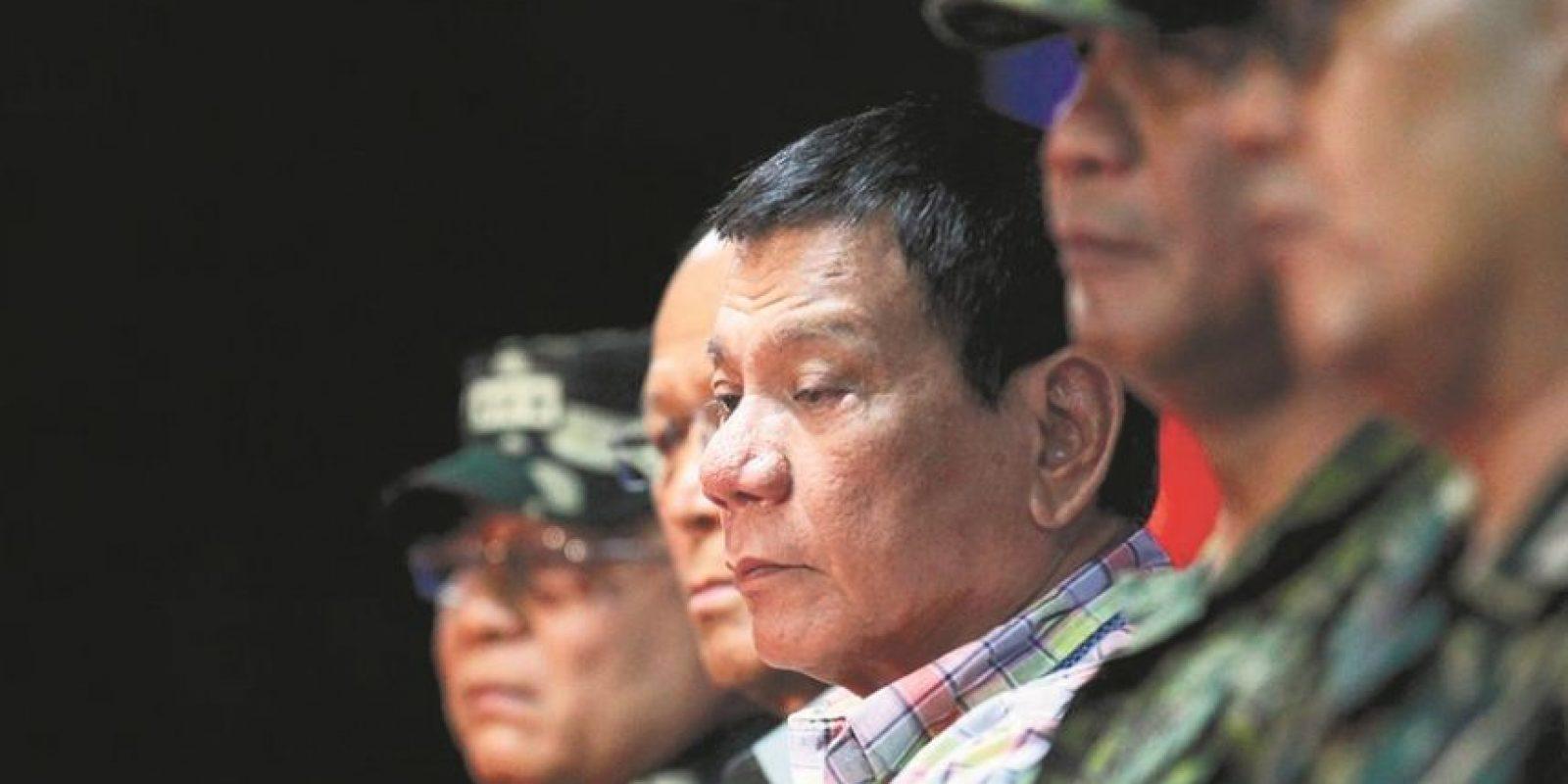 El presidente Rodrigo Duterte ha dicho que no le interesan los Derechos Humanos. Foto:Archivo