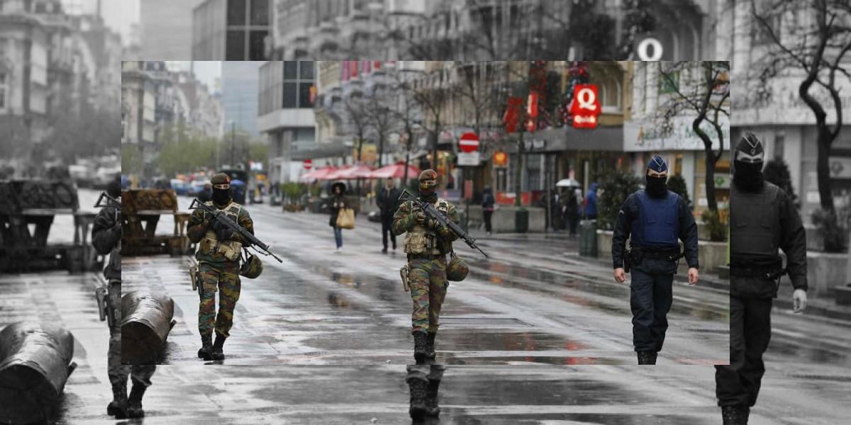 Bruselas estuvo en alerta por presuntos ataques terroristas