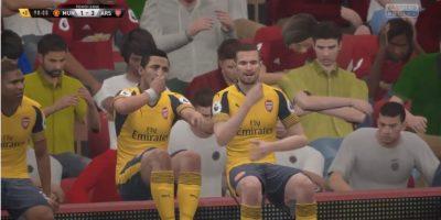 La celebración más bizarra del FIFA 17