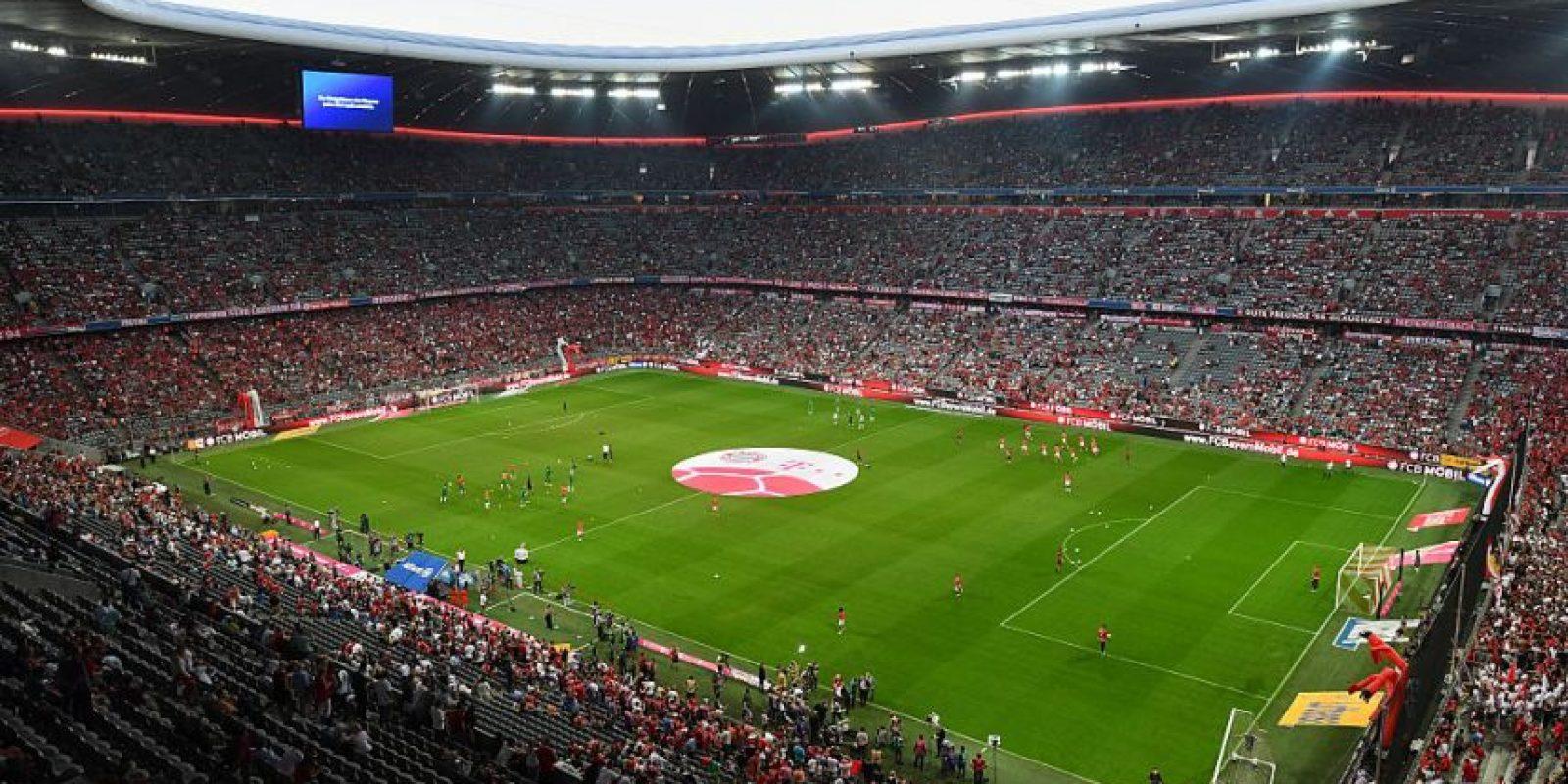 6.Bayern Munich – Allianz Arena (89.8 millones) Foto:Getty Images
