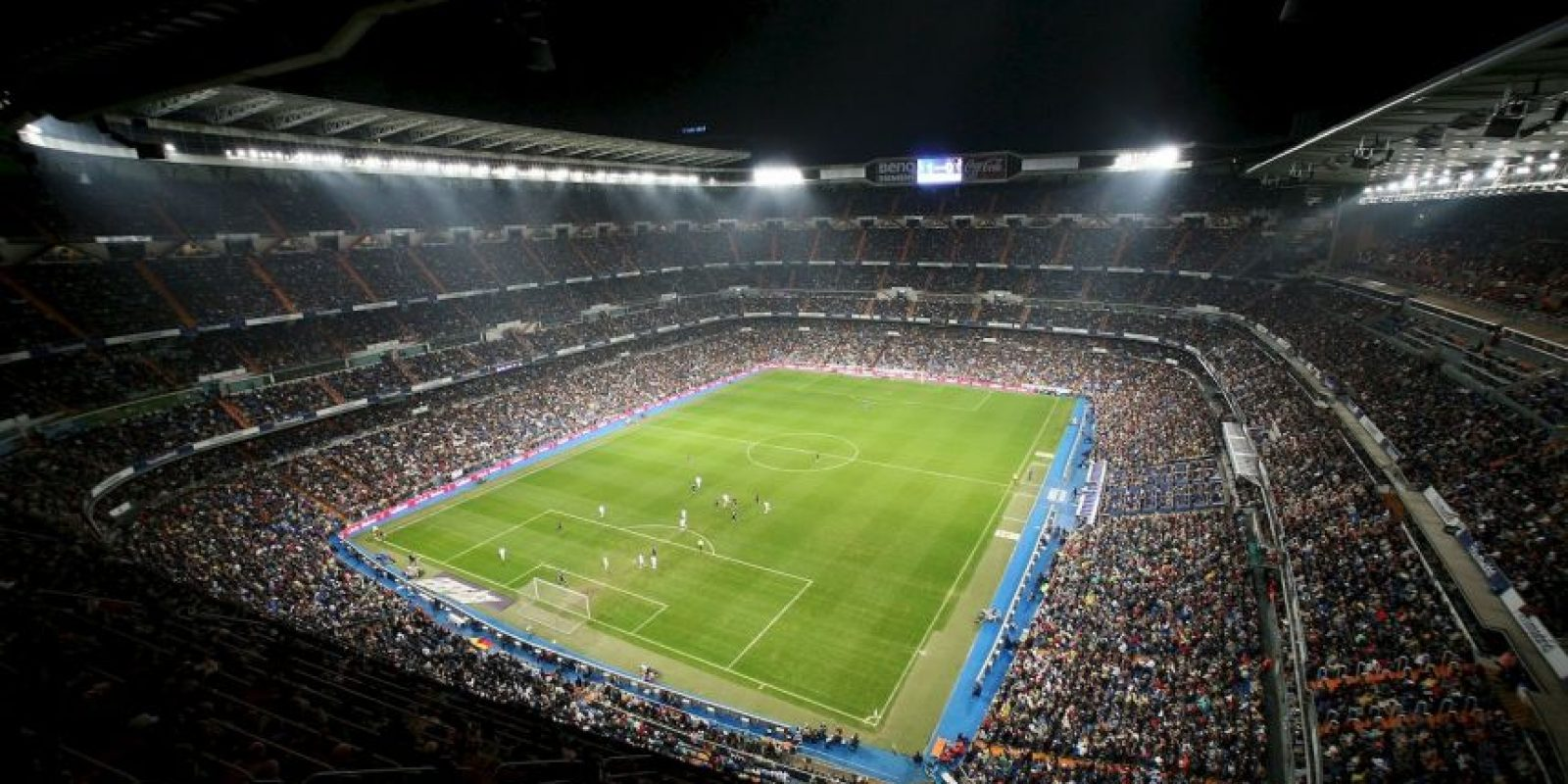2.Real Madrid – Santiago Bernabéu (129.8 millones) Foto:Getty Images