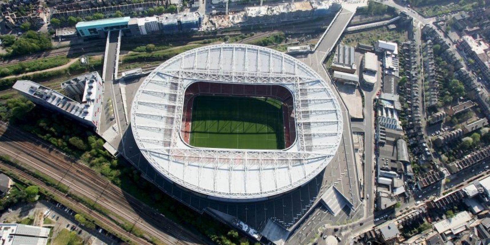 1.Arsenal – Emirates Stadium (132 millones de euros) Foto:Getty Images