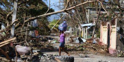 Aumenta a 820 la cifra de muertos en Haití por huracán Matthew