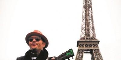 """Pavel Núñez filma video """"Poca vergüenza"""" en Francia"""