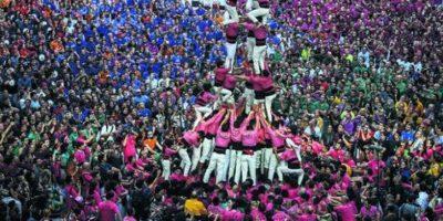 Subiendo torres humanas de Tarragona