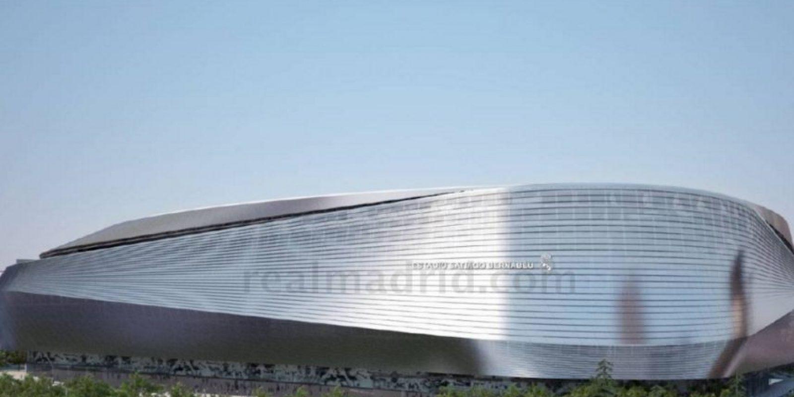 """Con la remodelación, el estadio podría ceder el """"segundo apellido"""" a la gran empresa inversora. Foto:Sitio web Real Madrid"""