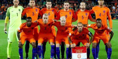 """Holanda. Es conocida como la """"Naranja Mecánica"""". Al igual que Italia toman el color de la casa Orange, que lideró los Paises Bajos en el Siglo XVI Foto:Getty Images"""