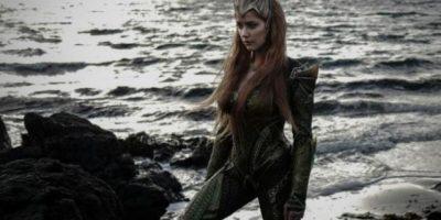 """La actriz Amber Heard será la reina de Atlantis en la película """"Justice League"""""""