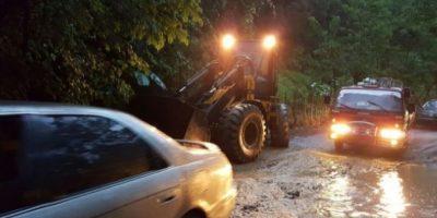 Lluvias provocan inundaciones y afectan viviendas en el norte de RD