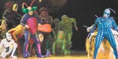 El ecosistema tiene su fiesta en el Cirque du Soleil