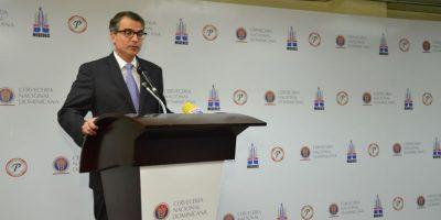 Ramon Franco Director asuntos corporativos CND. Foto:Fuente externa