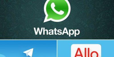 WhatsApp, Telegram o Google Allo, ¿cuál elegir?
