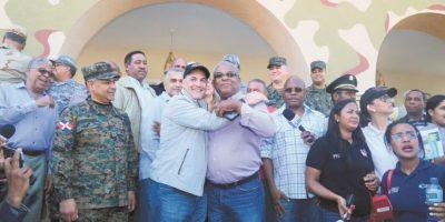 Haití califica ayuda de RD como cálida y rápida
