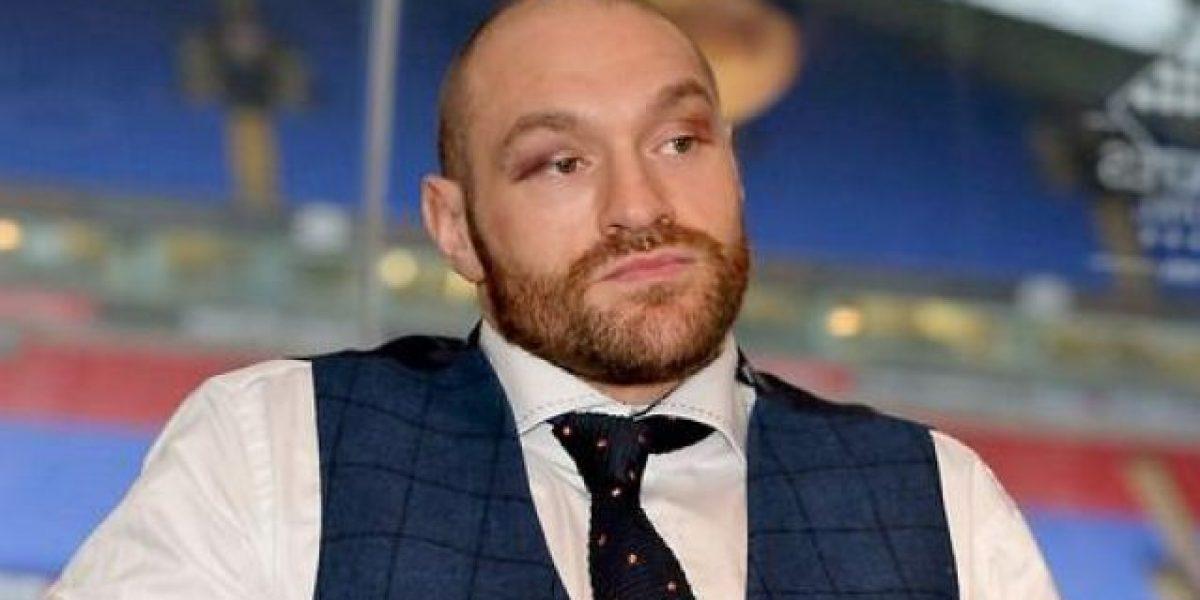 El boxeador Tyson Fury dice está harto de la vida