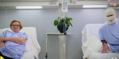 La visitó en el hospital donde se hizo pasar por un paciente Foto:Antena 3