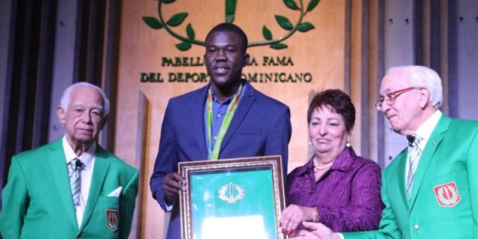 Luisito Pie, ganador de la medalla de bronce en los Juegos Olímpico de Río. Foto:Fuente externa
