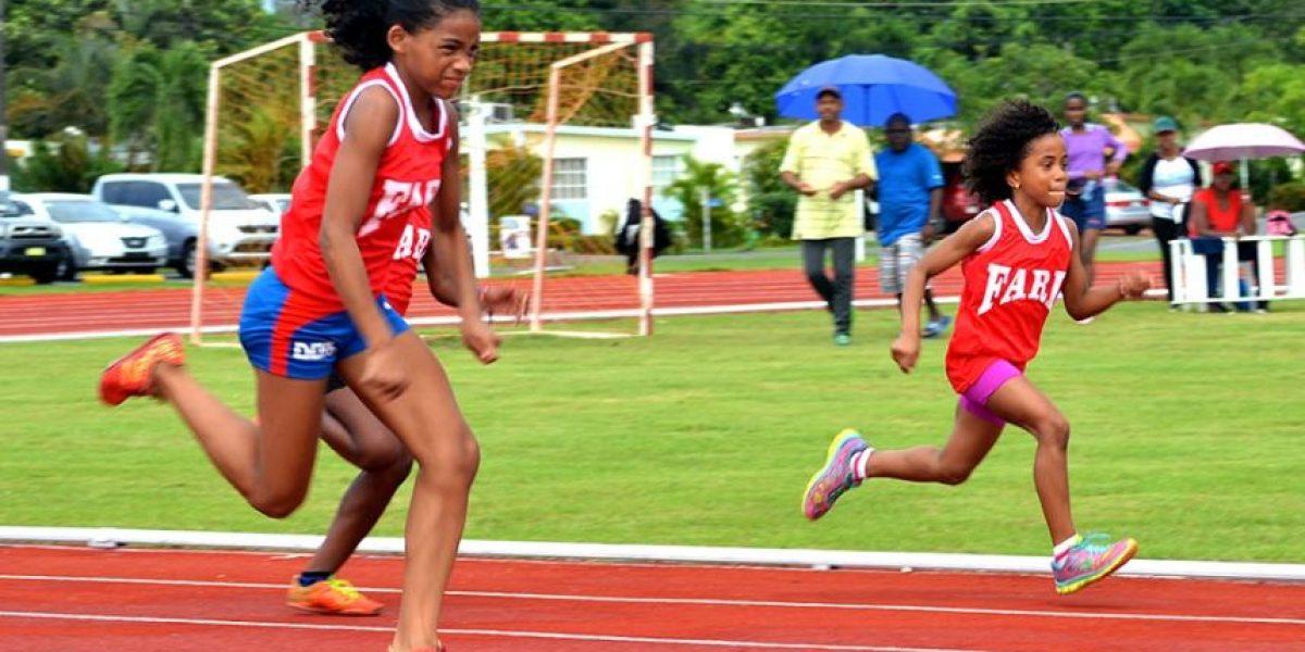 Celebra 1er. Invitacional de Atletismo Infantil y Juvenil en la Base Aérea San Isidro