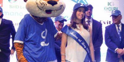 La señorita Isabelle Marie Ravelo Nadal será la madrina del Licey. Foto:Licey.com