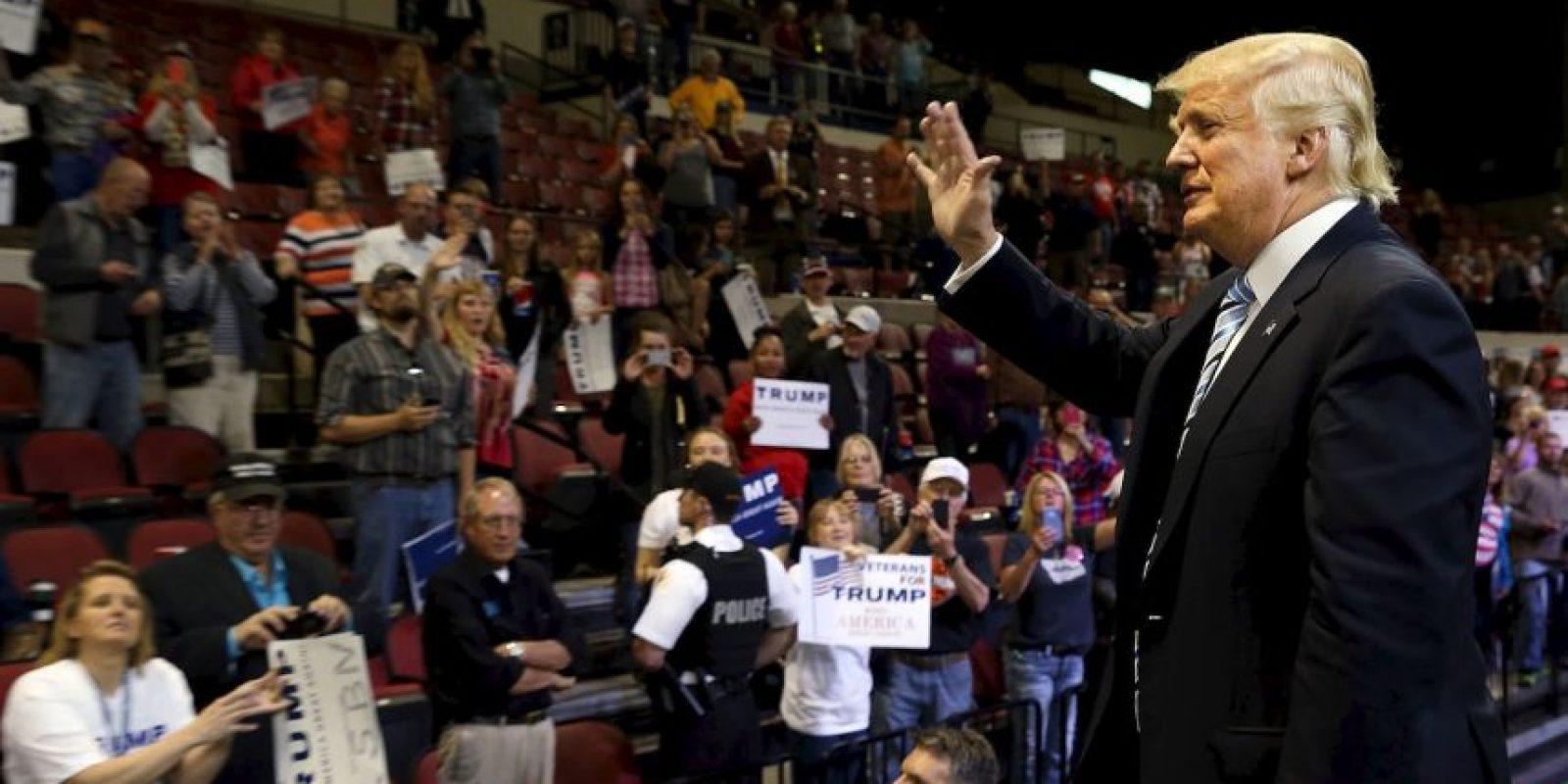 A pesar de las declaraciones racistas de Donald Trump en contra de los mexicanos Foto:Getty Images