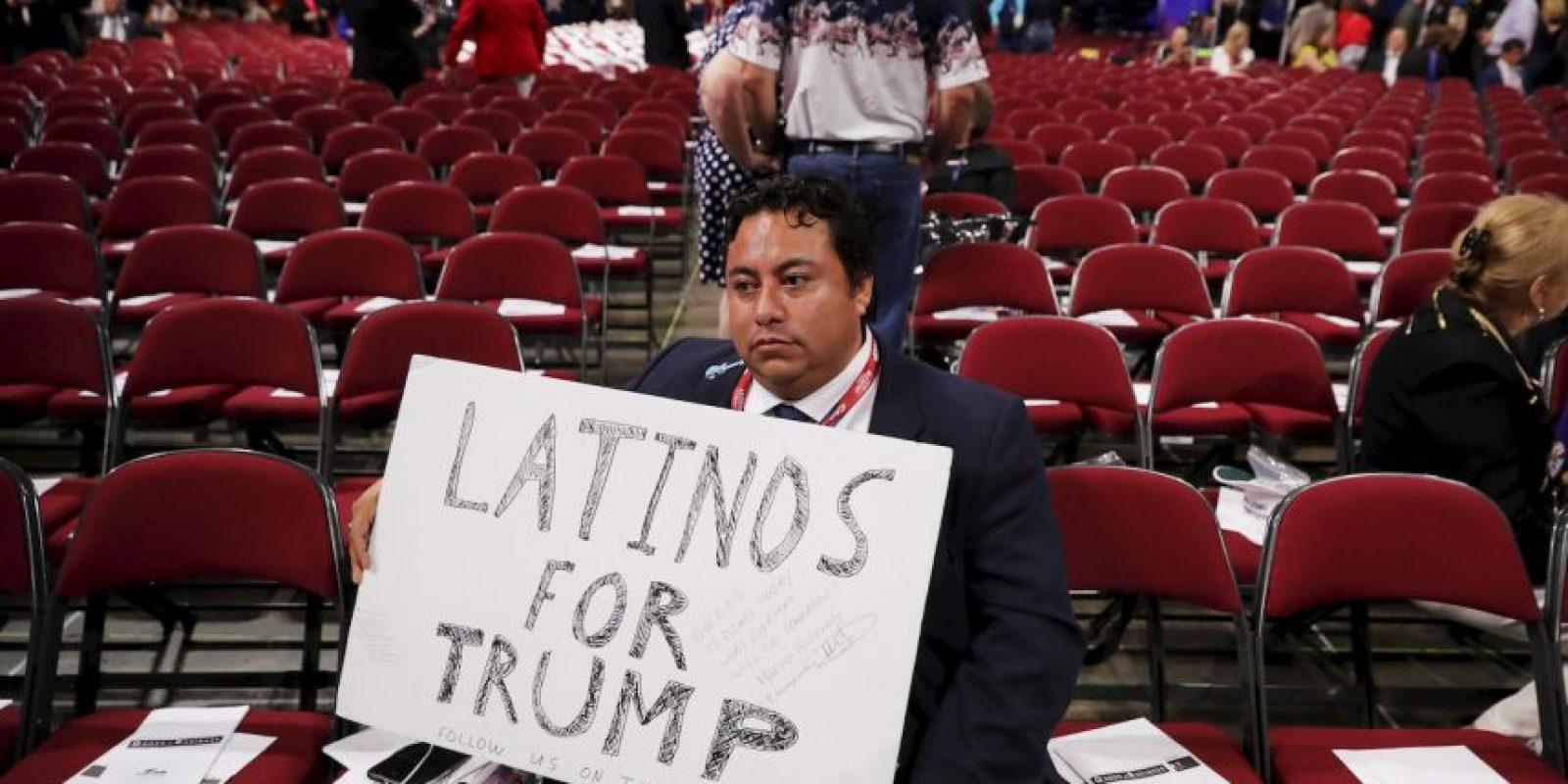"""Marco Gutiérrez es el fundador de """"Latinos For Trump"""" Foto:Getty Images"""