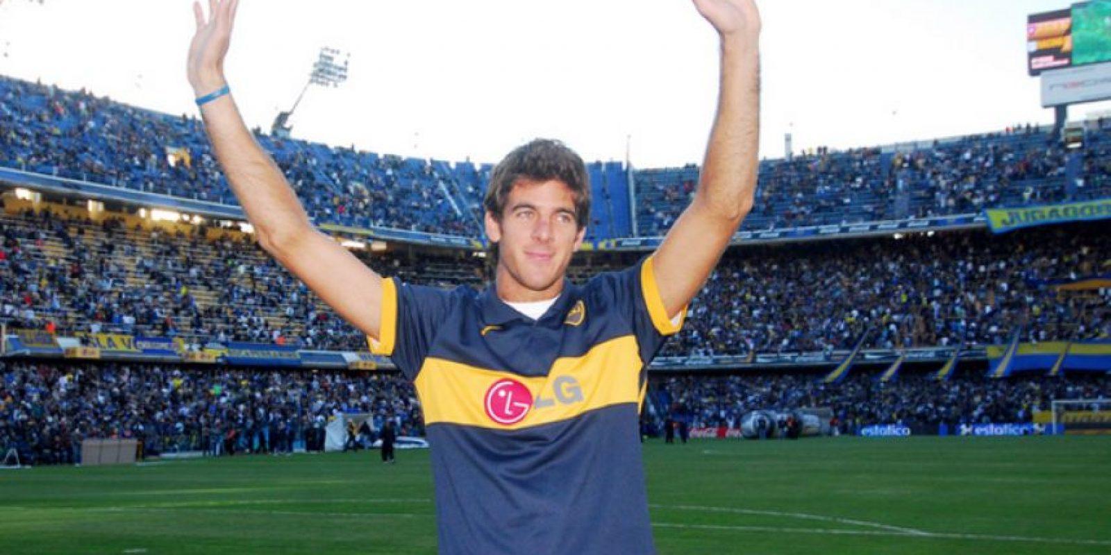 Juan Martín del Potro (tenista argentino) – Boca Juniors