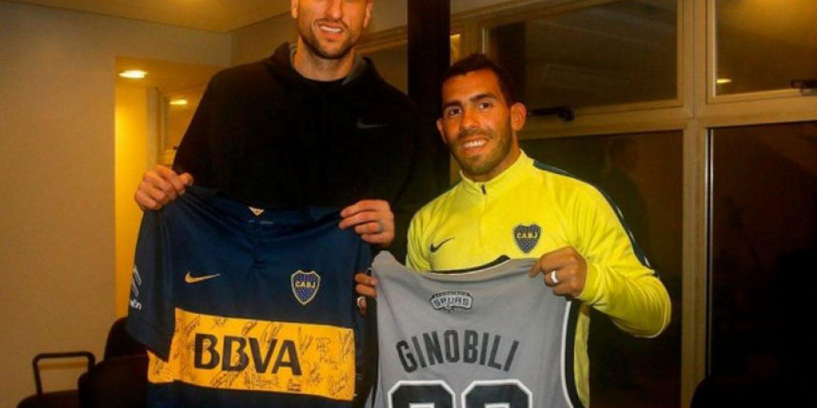 Emanuel Ginóbili (basquetbolista argentino) – Boca Juniors