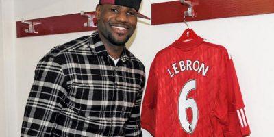 LeBron James (basquetbolista estadounidense) – Liverpool
