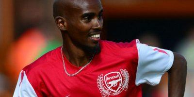 Mo Farah (atleta británico) – Arsenal