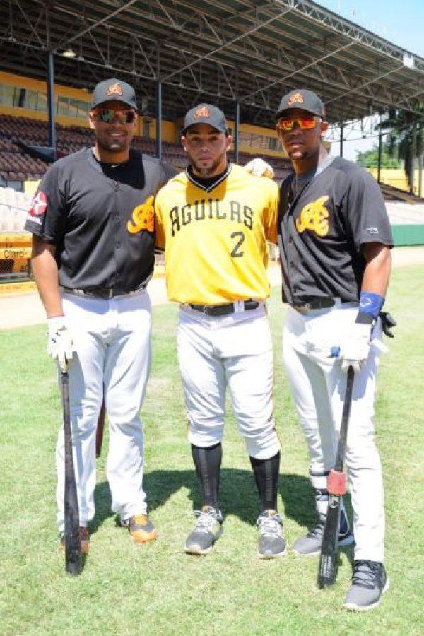 Francisco Peña, Juan Carlos Pérez y Jose Fernández Foto:Fuente externa