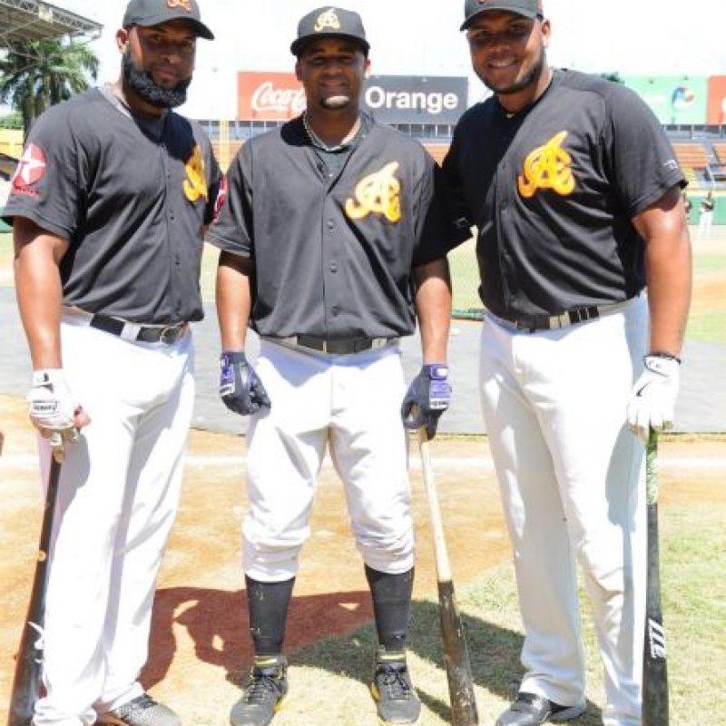 Zoilo Almonte, Rafael Ynao y Edwin Espinal. Foto:Fuente externa