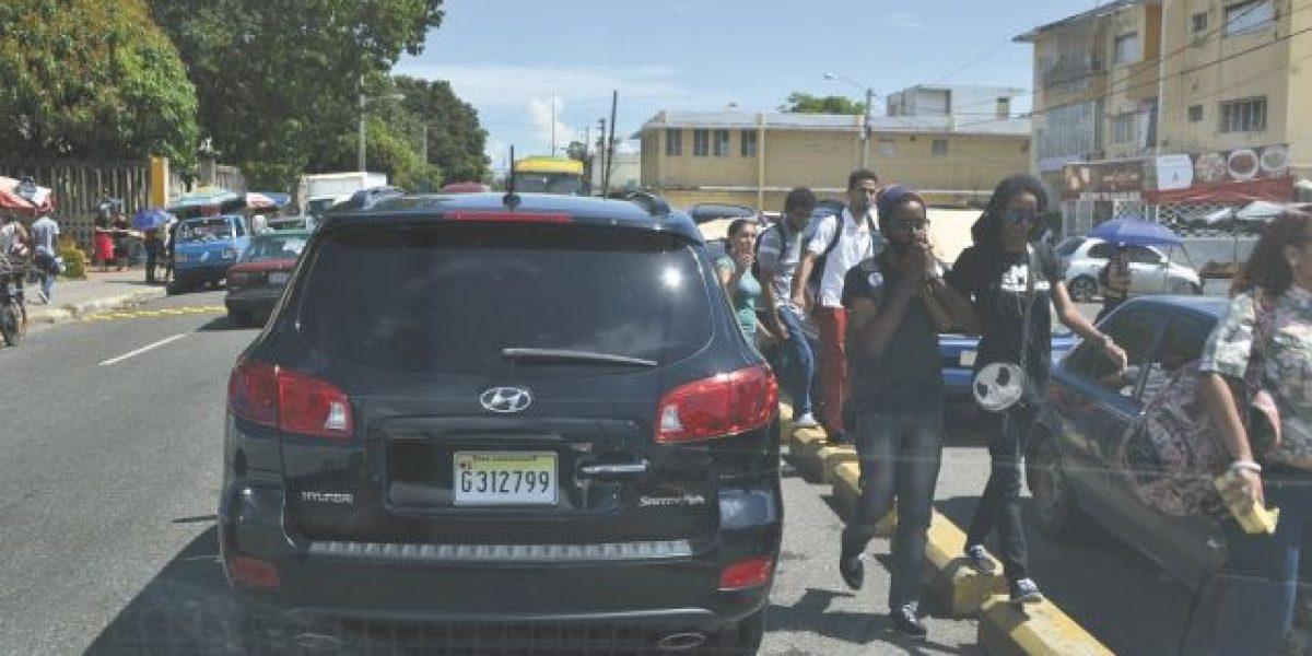 La UASD volvió  a ser escenario de protesta y disturbios por salarios