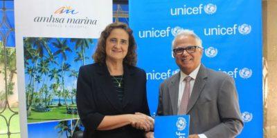 Amhsa Marina y UNICEF sellan un acuerdo