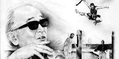 """Dibujos de Ángel Haché: """"Homenaje al cine, blanco y negro"""""""