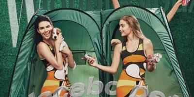 Photoshopean piernas de Kendall Jenner y Gigi Hadid y desaparecen sus rodillas