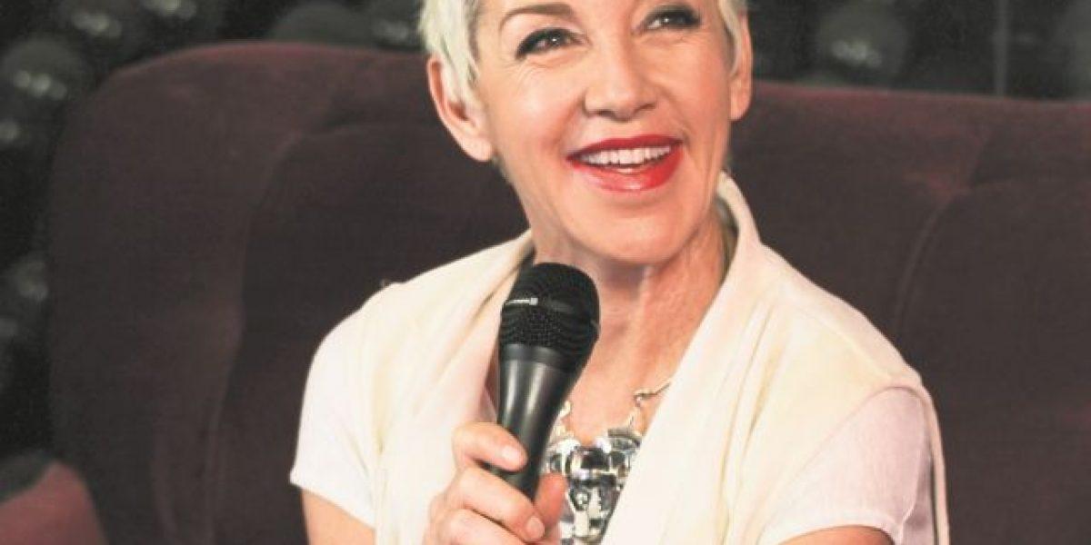 La cantante Ana Torroja, feliz de cantar en el país