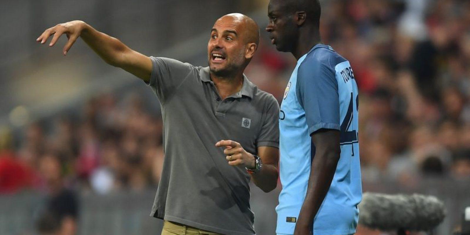 Yaya Touré (mediocampista): El marfileño tuvo una discusión con Pep Guardiola por culpa de su representante. El agente lanzó dardos contra el técnico y le costó el puesto al jugador. Foto:Getty Images