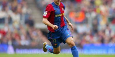 Gianluca Zambrotta (defensa): Era titular en Barcelona hasta la llegada de Pep Guardiola. Ahí perdió su lugar y emigró a AC Milán Foto:Getty Images