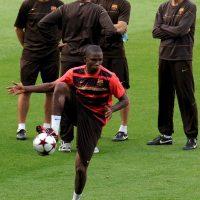 Samuel Eto'o (delantero): Otro que nunca conectó con Guardiola. Pese a su buen rendimiento, fue parte de la operación para que llegue Zlatan Ibrahimovic. Foto:Getty Images