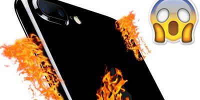 Un iPhone 7 estalló y provocó incendio en automóvil