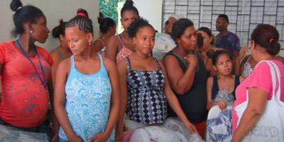 Médicos atienden a cientos de afectados en Vicente Noble por el paso de Matthew