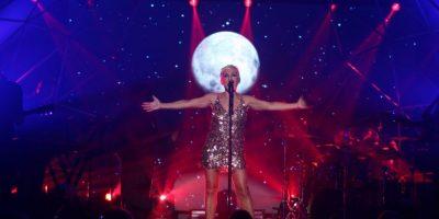 Ana Torroja conectó con su                    público en Hard Rock