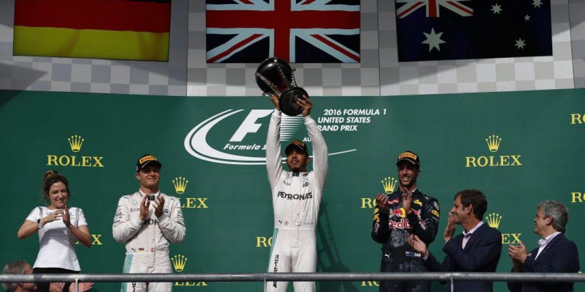 Lewis Hamilton  gana el GP de Estados Unidos