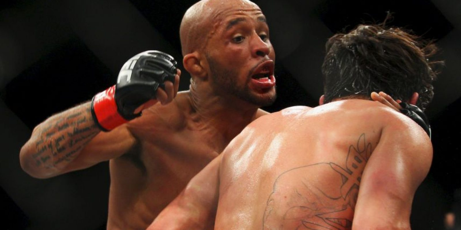 Demetrious Johnson. Se burlaban de sus grandes orejas, hasta que entró al gimnasio Foto: Getty Images