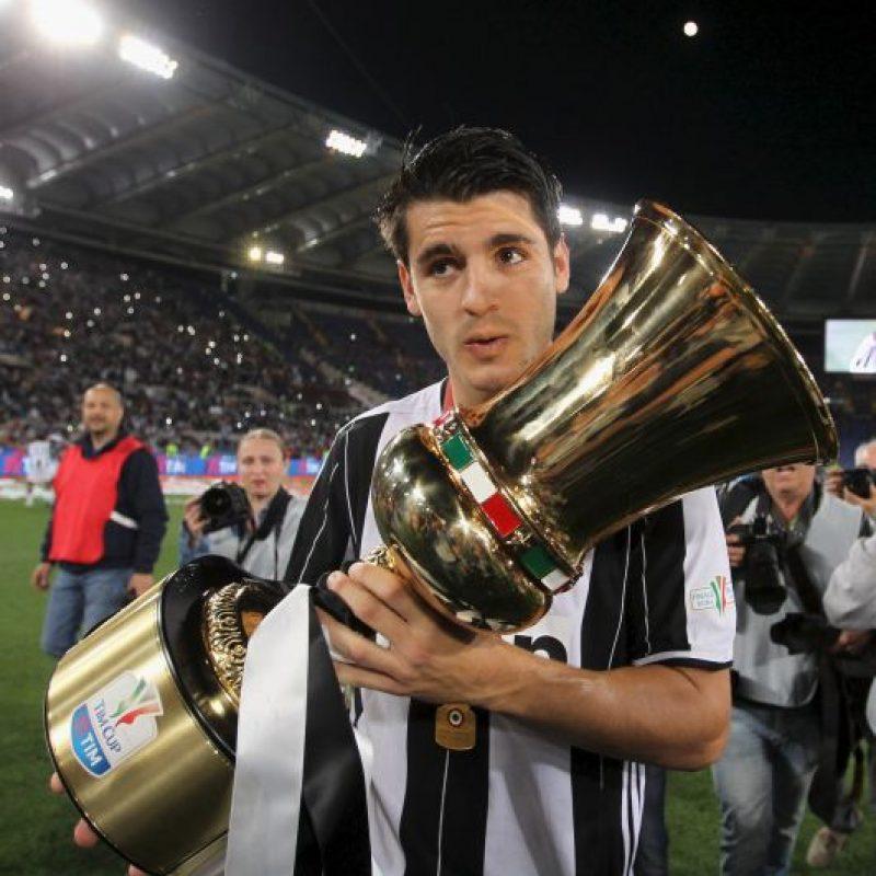 Álvaro Morata (Juventus, actualmente en Real Madrid) Foto:Getty Images
