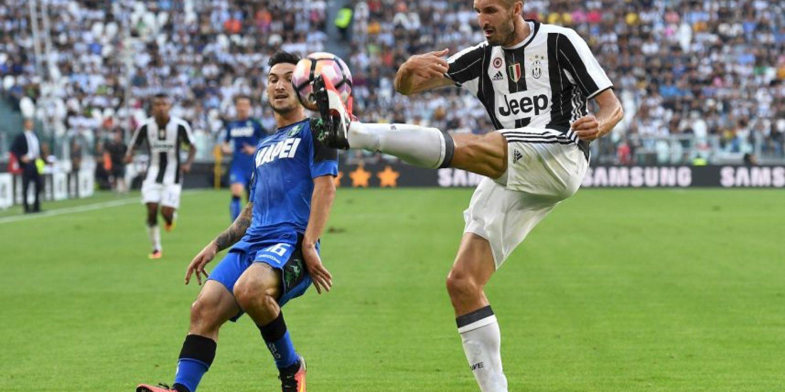 Giorgio Chiellini (Juventus) Foto:Getty Images