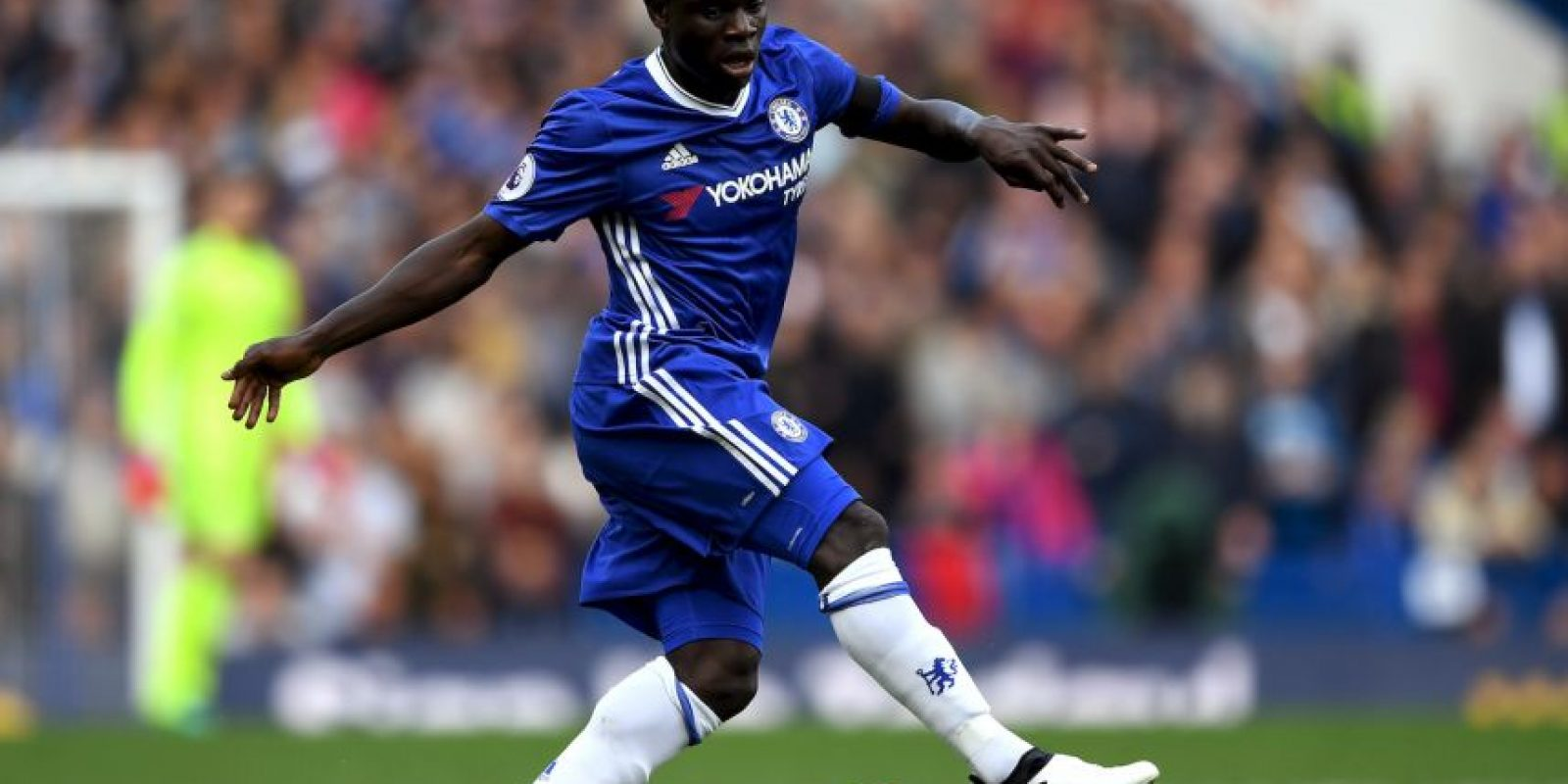 N'Golo Kanté (Leicester, actualmente en Chelsea) Foto:Getty Images