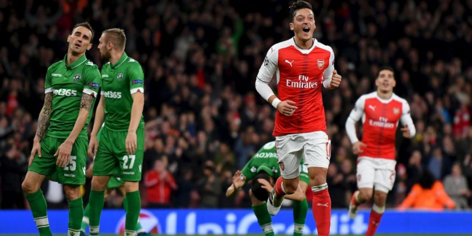 Mesut Özil (Arsenal) Foto:Getty Images