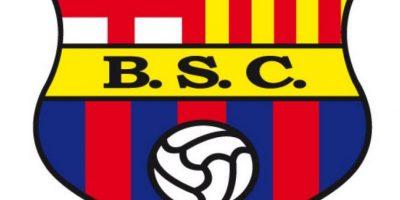 Barcelona de Guayaquil. Un club ecuatoriano, fundado por un grupo de catalanes en 1925, tomó prestada esta insignia.